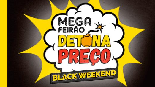 Tá chegando o Mega Feirão Detona Preço BLACK WEEKEND