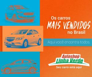 Os carros mais vendidos no Brasil