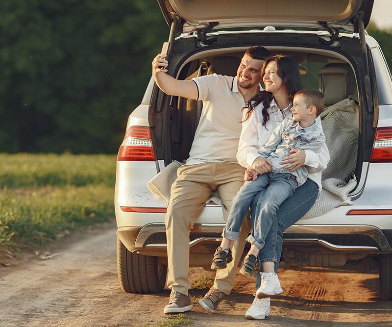 Quatro dicas para planejar uma viagem de carro em família